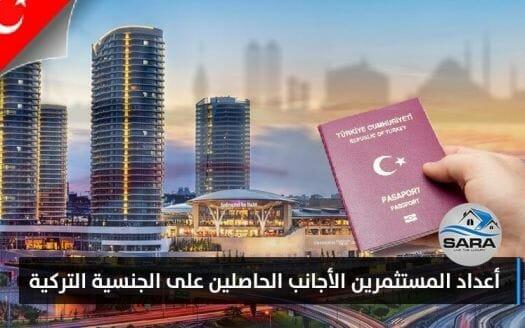 المستثمرين الأجانب الحاصلين على الجنسية التركية